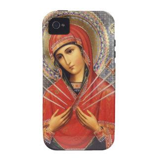 Nuestra señora de dolores iPhone 4/4S fundas