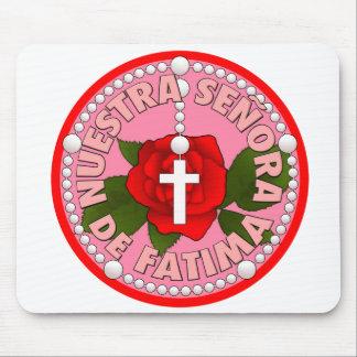 Nuestra Señora de Fatima Mouse Pad