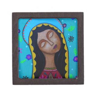 Nuestra señora de Guadalupe Cajas De Recuerdo De Calidad