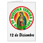 Nuestra Señora de Guadalupe Felicitacion