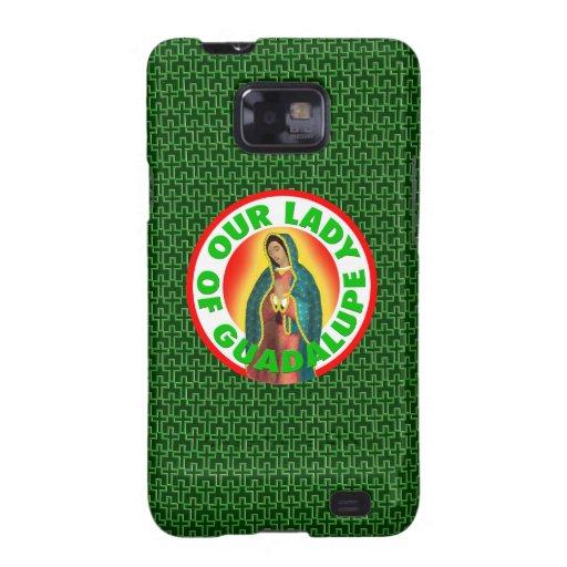 Nuestra señora de Guadalupe Galaxy SII Funda