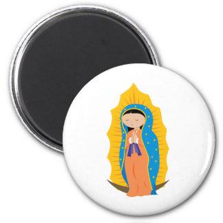 Nuestra señora de Guadalupe Iman Para Frigorífico