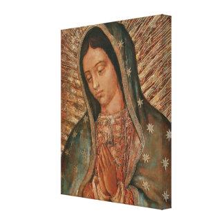 nuestra señora de Guadalupe Impresión En Lienzo