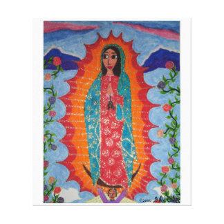 Nuestra señora de Guadalupe Lona Estirada Galerias