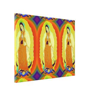 nuestra señora de Guadalupe Impresión En Lona Estirada
