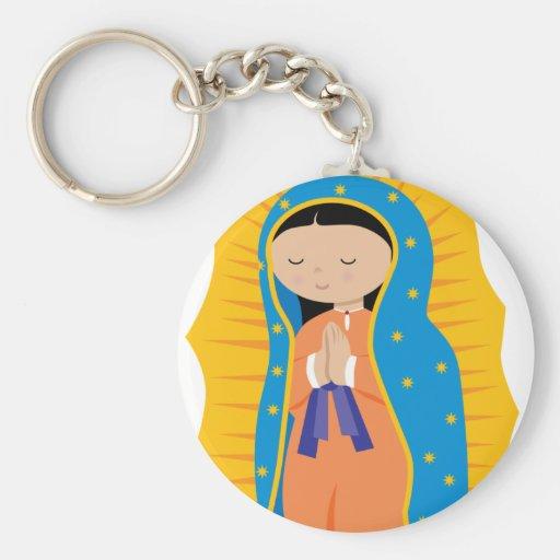 Nuestra señora de Guadalupe Llavero