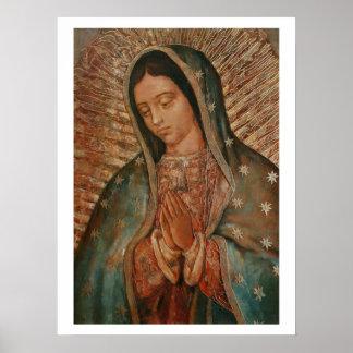 nuestra señora de Guadalupe Poster