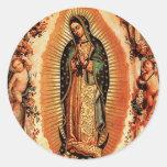 Nuestra señora de Guadalupe Pegatina