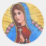 Nuestra señora de Guadalupe - pegatina