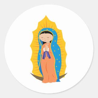 Nuestra señora de Guadalupe Pegatinas