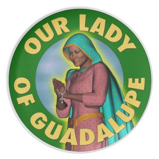 Nuestra señora de Guadalupe Plato