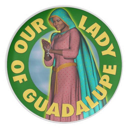 Nuestra señora de Guadalupe Platos