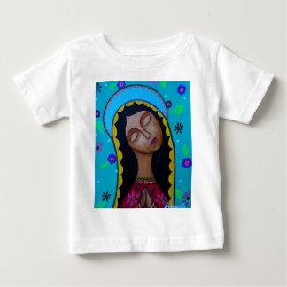 Nuestra señora de Guadalupe Playera Para Bebé