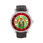 Nuestra señora de Guadalupe Relojes De Pulsera