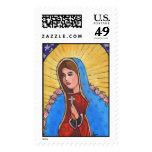 Nuestra señora de Guadalupe - sello
