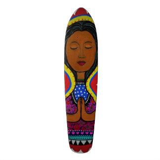 Nuestra Senora de Guadalupe Custom Skate Board