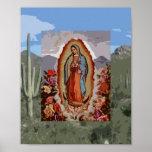 Nuestra señora de Guadalupe Sonoran Poster