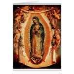 Nuestra señora de Guadalupe Tarjeta