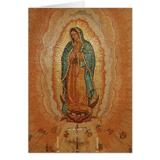 Nuestra señora de Guadalupe Felicitación