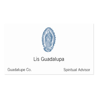 Nuestra señora de Guadalupe Tarjetas De Visita