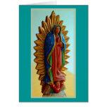 """""""Nuestra Señora de Guadalupe """" Tarjeta De Felicitación"""
