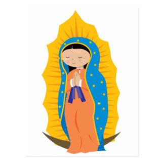 Nuestra señora de Guadalupe Tarjeta Postal