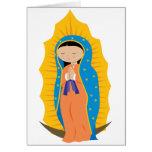 Nuestra señora de Guadalupe Tarjetón