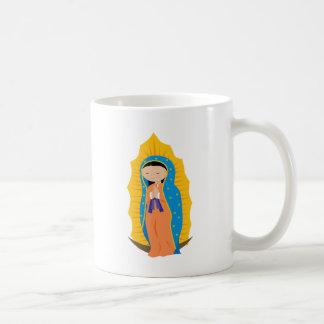 Nuestra señora de Guadalupe Taza Básica Blanca