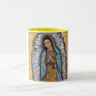 Nuestra señora de Guadalupe Tazas De Café