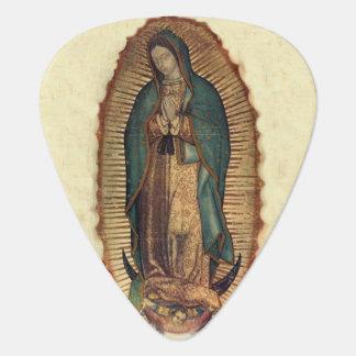 Nuestra señora de Guadalupe, Tilpa original Plectro