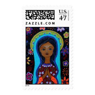 Nuestra Señora de Guadalupe Timbre Postal