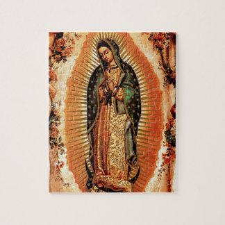 Nuestra señora de Guadalupe y de los ángeles Puzzle Con Fotos