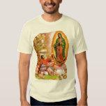 Nuestra señora de Guadalupe y santo Juan Diego Playeras