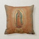 Nuestra señora de la almohada de tiro de Guadalupe