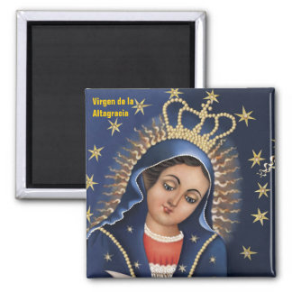 Nuestra Señora de la Altagracia Magnet Imán Cuadrado