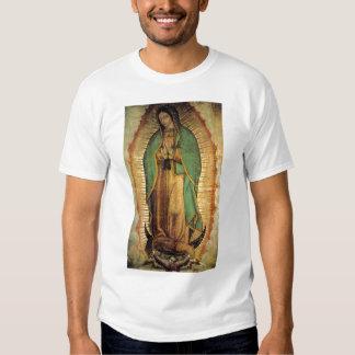 Nuestra señora de la camiseta de Guadalupe Playeras