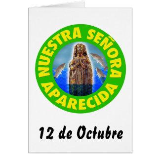 Nuestra Señora de la Concepción Aparecida Tarjeta De Felicitación