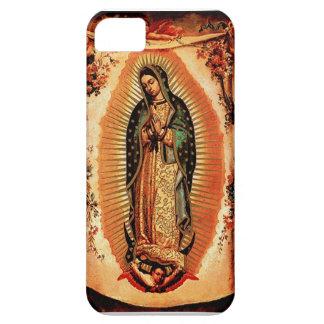 Nuestra señora de la cubierta de Guadalupe iPhone 5 Case-Mate Cárcasas