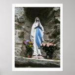 Nuestra señora de la fotografía de Lourdes Impresiones