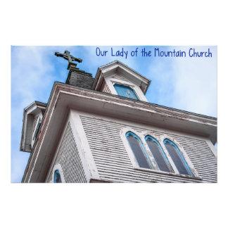 Nuestra señora de la iglesia de la montaña fotografía
