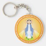 Nuestra señora de la medalla milagrosa llaveros personalizados