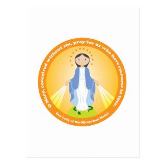Nuestra señora de la medalla milagrosa postales