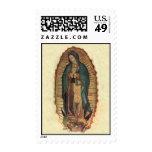 Nuestra señora de la original del vintage de sellos postales