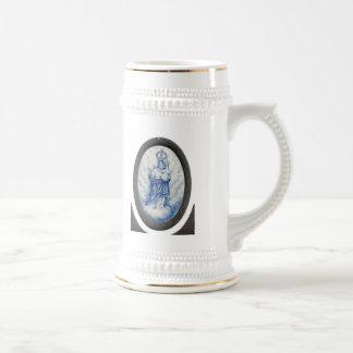 Nuestra señora de la paz taza de café