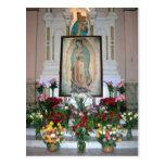 Nuestra señora de la postal de Guadalupe