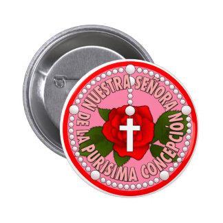 Nuestra Señora de la Purisima Concepción Pinback Button