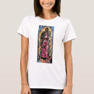 Nuestra señora de la ropa del mosaico de Guadalupe Playera