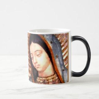 Nuestra señora de la taza Morphing de Guadalupe -