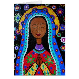 Nuestra señora de las tarjetas de Guadalupe