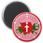 Nuestra Señora de Lourdes Magnets